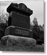 Odd Fellows Cemetery Metal Print