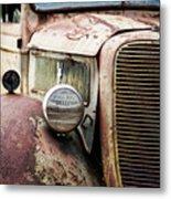 Old Farm Ford - Pov 1 Metal Print