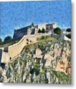 Palamidi Castle Metal Print