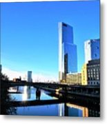 Philly Over The Schuylkill Metal Print