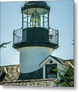 Point Pinos Lighthouse In Monterey California Metal Print