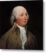 President John Adams Metal Print by War Is Hell Store