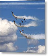 Red Arrows Metal Print