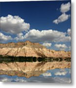 Red Rock Reflections Metal Print