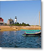 Sandy Neck Lighthouse Metal Print