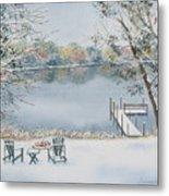 4 Seasons-winter Metal Print