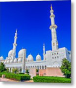 Sheikh Zayed Grand Mosque Metal Print