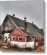 Stands With Dignity Metal Print