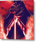 Star Wars On Art Metal Print