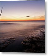 Sunset At Basanija Metal Print