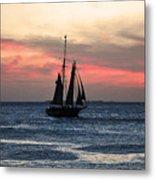 Sunset Key West  Metal Print