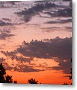 Sunset Moreno Valley Ca Metal Print