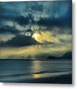 Sunshine At Puerto Cabello Metal Print