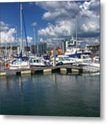 Sutton Harbour Plymouth Metal Print