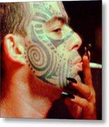 Tattoo Mike Metal Print