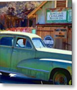 Techatticup Mine Ghost Town Nv Metal Print