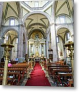 The Historical Mexico City Metropolitan Cathedral Metal Print
