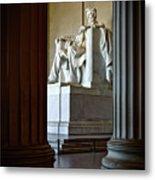 The Lincoln Memorial Metal Print