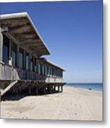 The Ocean Grill At Vero Beach In Florida Metal Print