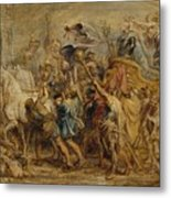 The Triumph Of Henry Iv Metal Print