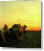 The Weeders Metal Print