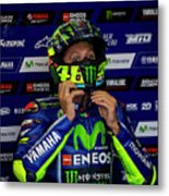 Valentino Rossi The Doctor  Metal Print