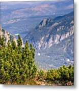 View Of Tatra Mountains From Hiking Trail. Poland. Europe. Metal Print