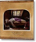 Wallis Henry The Death Of Chatterton2 Henry Wallis Metal Print