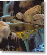 Waterfall On Maui Metal Print