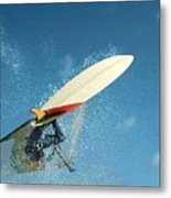 Windsurfing Metal Print