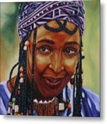 Winnie Mandela Metal Print by Shahid Muqaddim