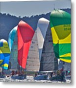 Bay Colors Metal Print