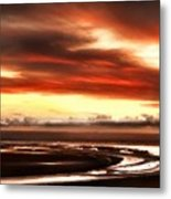Country Landscapes Metal Print