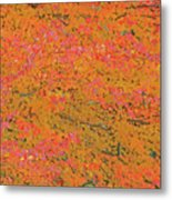 4139 Flaming Maple Metal Print