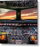 4245- Cockpit Metal Print