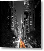 42nd Street Nyc Metal Print