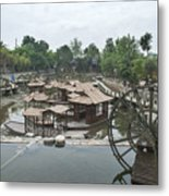 4359- Water Wheel Metal Print
