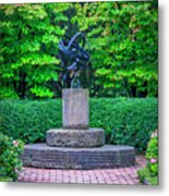 4387- Sculpture Metal Print