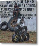 Mozambique Metal Print