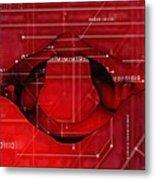Atlas Anatomy Art Metal Print