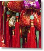 4647- Chinese Tassels Metal Print