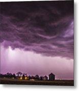 First Nebraska Storm Chase 2015 Metal Print