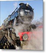 48624 Steam Locomotive Metal Print