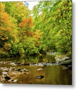 North Carolina Fall Colors Metal Print