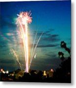 4rth Of July Metal Print