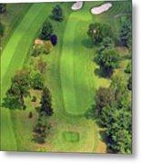 4th Hole Sunnybrook Golf Club 398 Stenton Avenue Plymouth Meeting Pa 19462 1243 Metal Print
