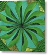 4th Mandala - Heart Chakra Metal Print