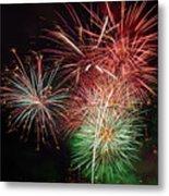4th Of July Fireworks Display Portland Oregon Metal Print