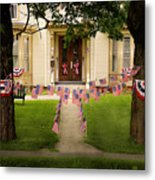 4th Of July Home Metal Print