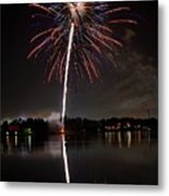 4th Of July Metal Print by Lone Dakota Photography
